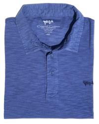 Island Slub Polo - Coastal Cotton