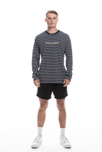 Load image into Gallery viewer, long sleeve stripe dalmor t-shirt