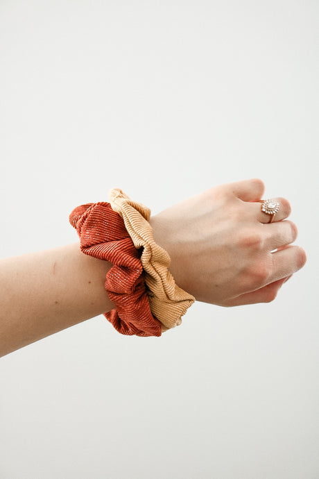 Online or In Line Scrunchie