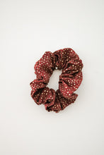 Load image into Gallery viewer, Drops of Gold Scrunchie