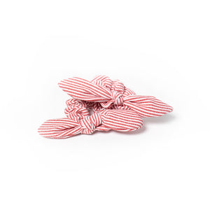 Striped Scrunchie Bow Series