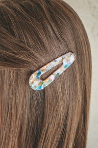 Groovy Multi Colored Acrylic Clip