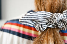 Load image into Gallery viewer, Striped Scrunchie Bow Series