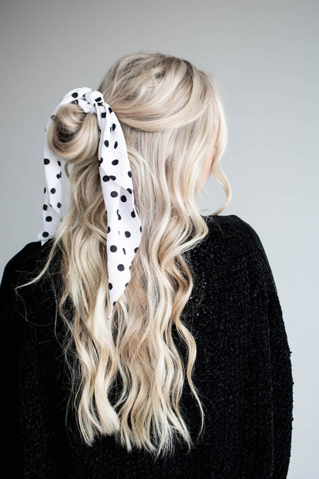 Black & White Flare Scarf