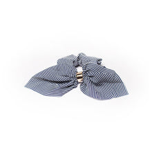 Load image into Gallery viewer, Striped Scrunchie Bows