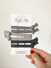 Load image into Gallery viewer, Coal Hair Ties