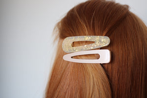 Solid Color Acrylic Clips