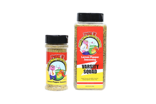 Who likes Lemon Pepper Seasoning?  This is the best you will have and is amazing on all types of food to be cooked in the kitchen or out back on the grill or smoker.