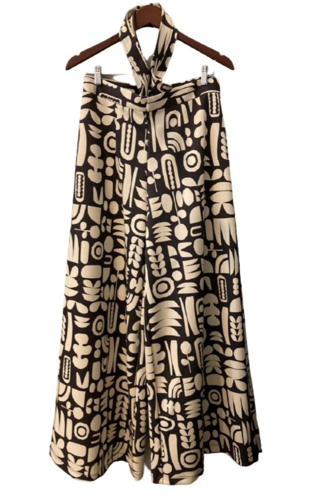 TRIBAL OVERALL JUMPSUIT (SCUBA)