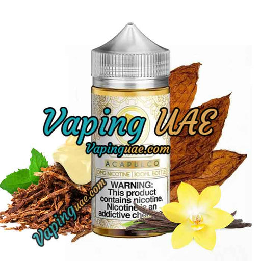 Acapulco - Gold Leaf E Liquid - 100mL - Vape Shop in Dubai - Vaping UAE