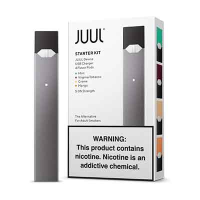 Authentic Juul Starter Kit With 4 Pods