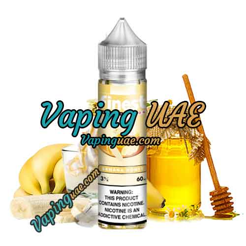 Banana Honey - Finest E-Liquid - Signature Edition - Vaping UAE