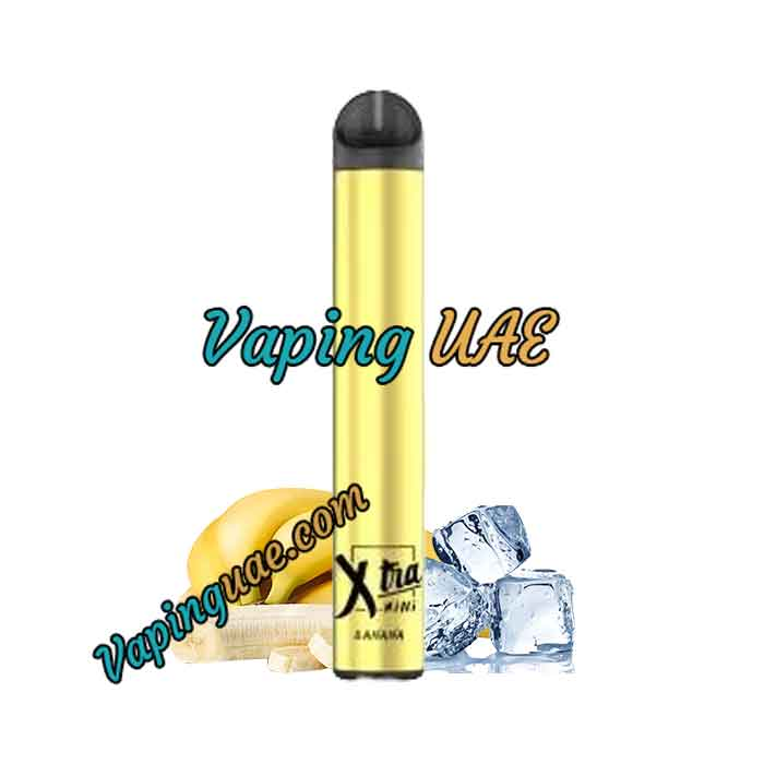 Banana Ice Xtra Mini Disposable Vape Pod - 800 Puffs - Vaping UAE