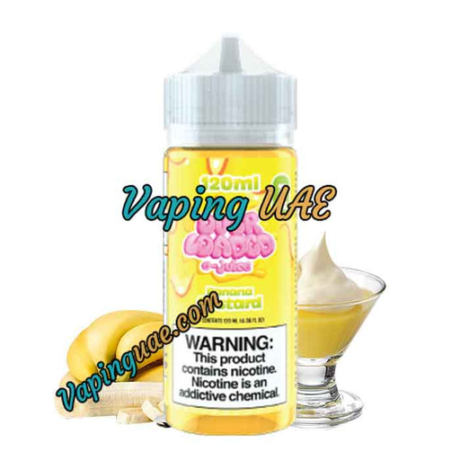 Banana Pudding Overloaded - Ruthless Vapor - 120mL - Vaping UAE