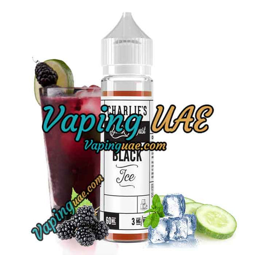Black Ice - Charlie's Chalk Dust E Juice - 60mL - dubai vape king
