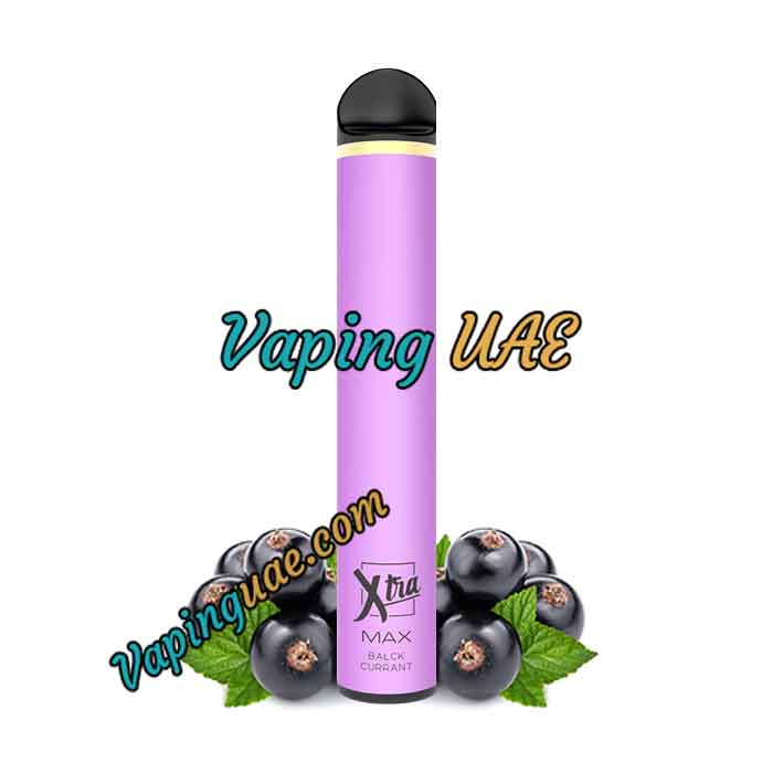 Blackcurrant Xtra MAX Disposable Vape Pod - 2500 Puffs - Vaping UAE
