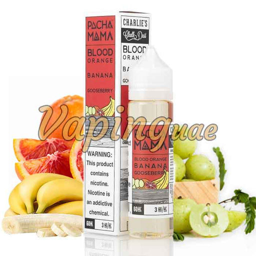 Blood Orange Banana Gooseberry By Pachamama - Vaping UAE