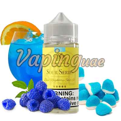 Blue Raspberry Sours ICE by KILO - Sour Series - 100ML - Vaping UAE