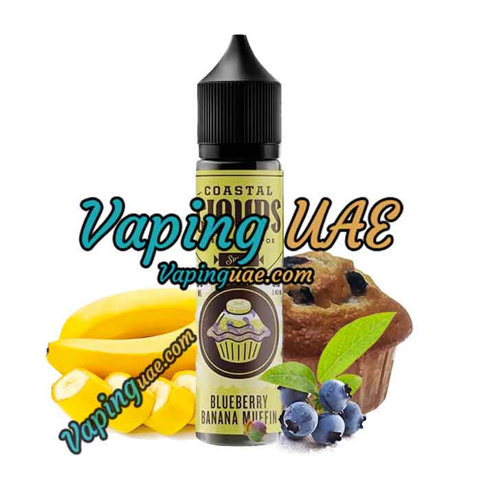 Blueberry Banana - Coastal Clouds E Juice - 60mL - Vaping UAE Vapors