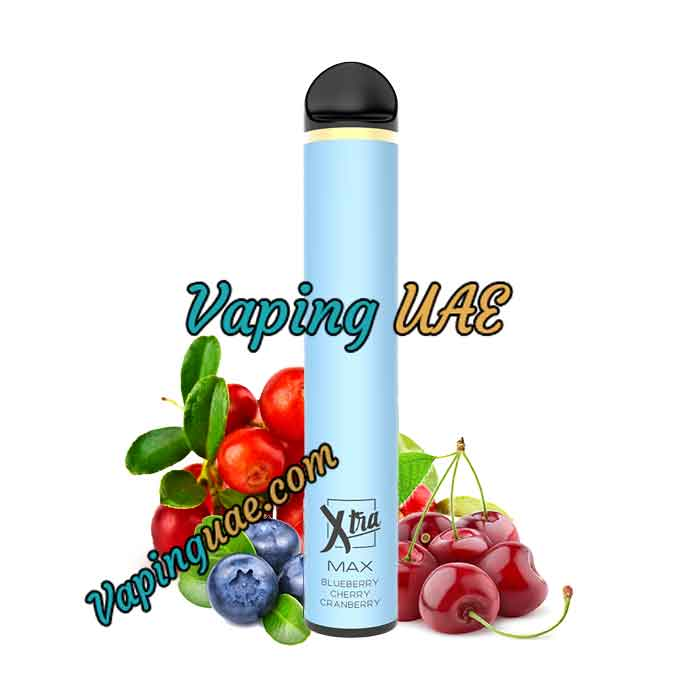 Blueberry Cherry Cranberry Xtra MAX Disposable Vape Pod - 2500 Puffs - Vaping UAE