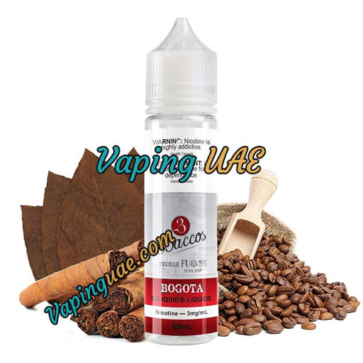 Bogota - 3baccos E-Juice - 60mL - Vaping UAE