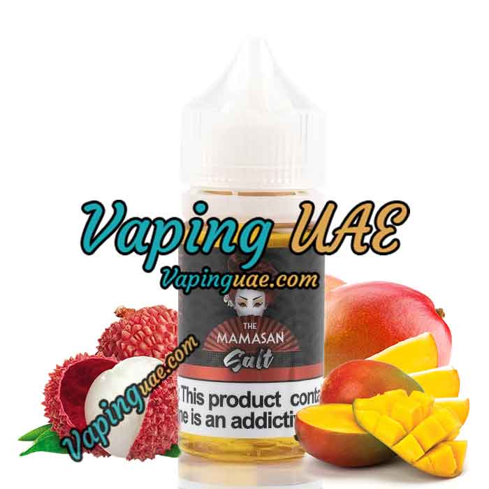 Bruce Leechee SALT by The Mamasan E-Liquid - 30mL - Vaping UAE