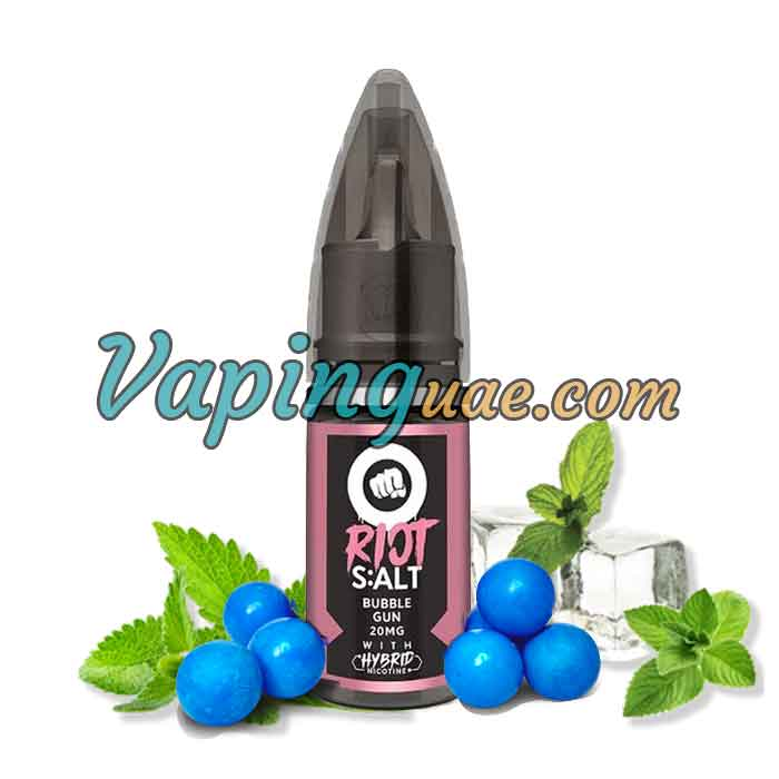 Bubblegun Hybrid Salt By Riot Squad - Vaping UAE