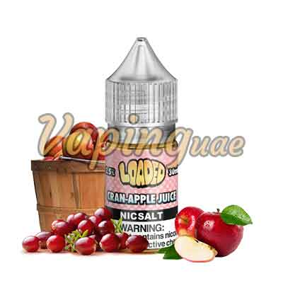Cran Apple Nicotine Salts By Loaded - Vaping UAE