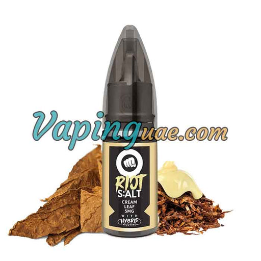 Cream Leaf Hybrid Salt By Riot Squad - Vaping UAE