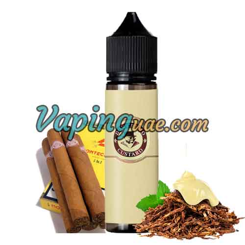 Don Cristo Custard Eliquid By PGVG Labs - Vaping UAE Vapors