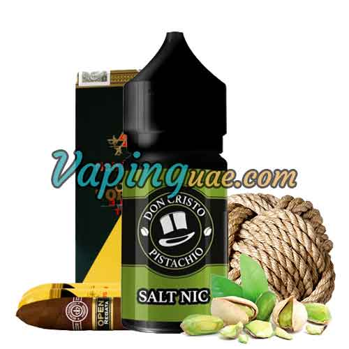 Don Cristo Pistachio Salt Nic Eliquid By PGVG Labs - Vaping UAE
