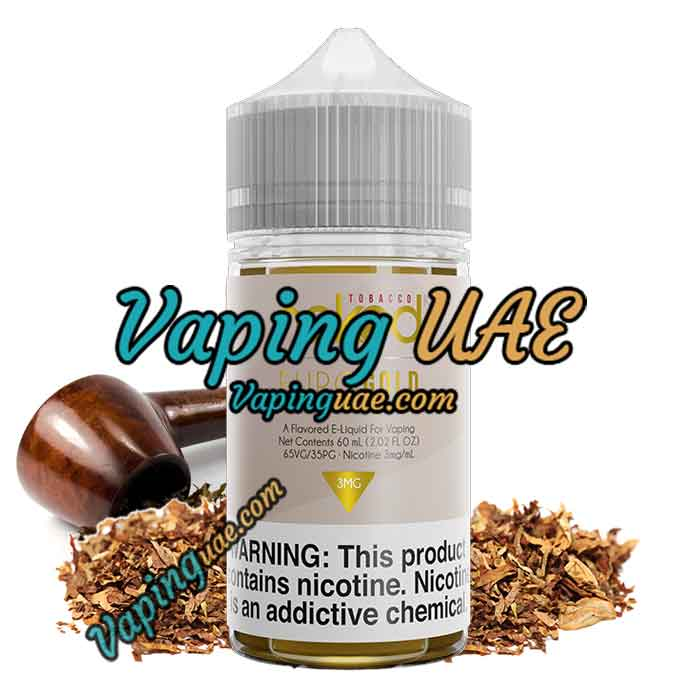 Euro Gold E Liquid by Naked 100 Tobacco - 60mL - Vaping UAE