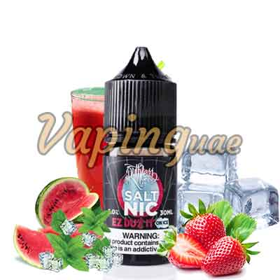 Ez Duz It On Ice E-Juice Nicotine Salt By Ruthless - Vaping UAE