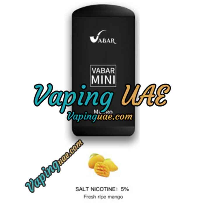 Vabar Mini Disposable Vape Device - Vaping UAE - Shop disposable pod in abu dhabi & dubai