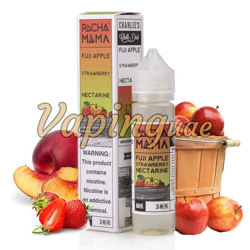 Fuji Apple Strawberry Nectarine By Pachamama - Vaping UAE