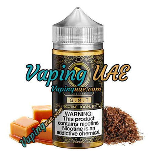 G.M.T - Gold Leaf E Liquid - 100mL - E cig Dubai - Vaping UAE