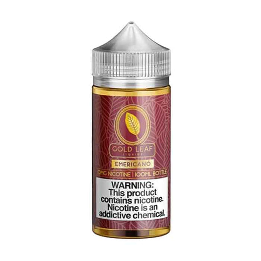 Emericano - Gold Leaf E Liquid - 100mL - Abu Dhabi Vape - Vaping UAE