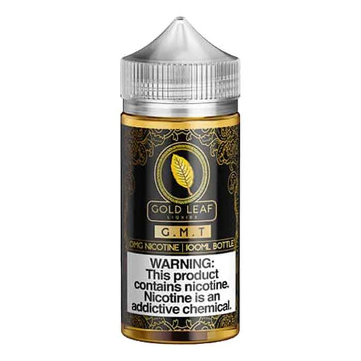 G.M.T - Gold Leaf E Liquid - 100mL - E cig Abu Dhabi - Vaping UAE