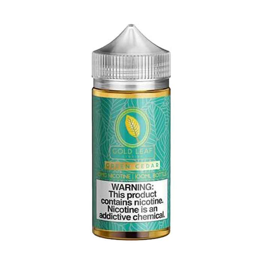 Green Cedar - Gold Leaf E Liquid - 100mL - Vape Shop Dubai - Vaping UAE