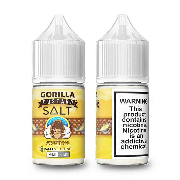 Gorilla Custard Salt - Original - 30ML - Online Vape Shop UAE