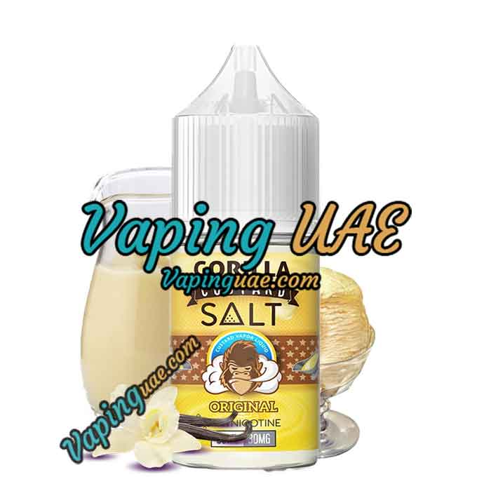 Gorilla Custard Salt - Original - 30ML - Vaping UAE