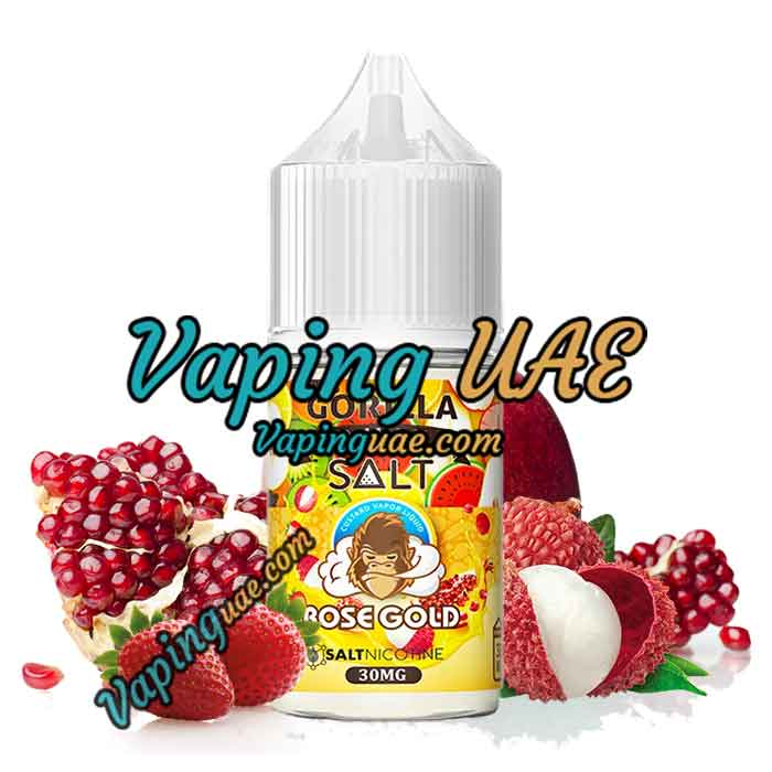 Gorilla Fruits Nic Salt - Rose Gold - 30ML - Vaping UAE