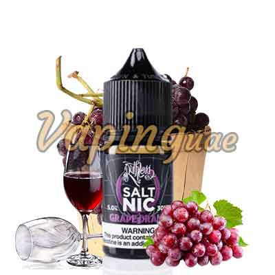 Grape Drank E-Juice Nicotine Salt By Ruthless - Vaping UAE
