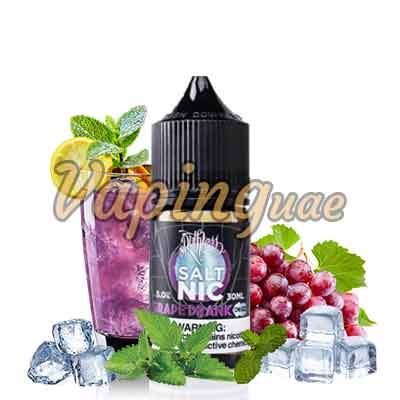 Grape Drank On Ice E-Juice Nicotine Salt By Ruthless - Vaping UAE