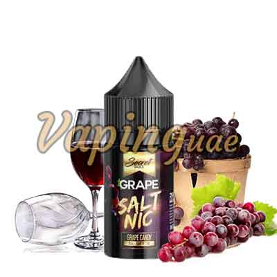 Grape Saltnic E Liquid By Secret Sauce