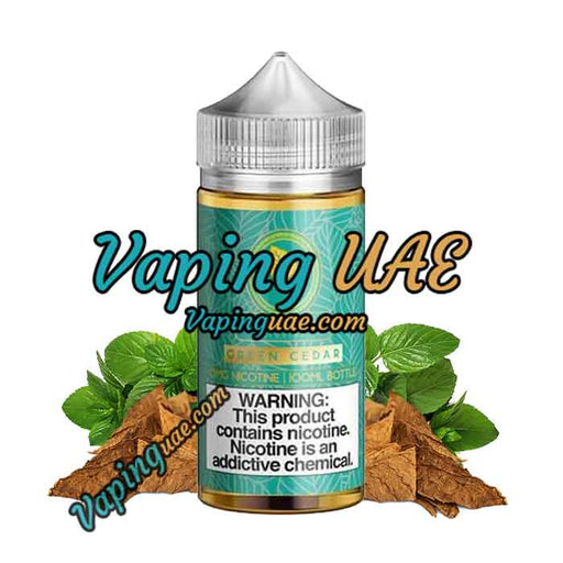 Green Cedar - Gold Leaf E Liquid - 100mL - Vape Shop Abu Dhabi - Vaping UAE