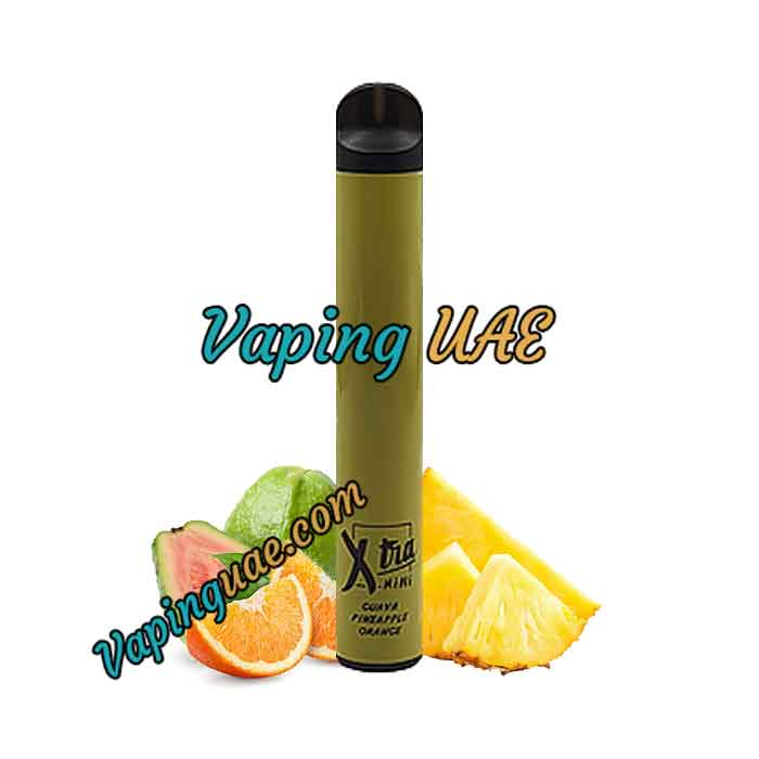 Guava Pineapple Orange Xtra Mini Disposable Vape Pod - 800 Puffs - Vaping UAE