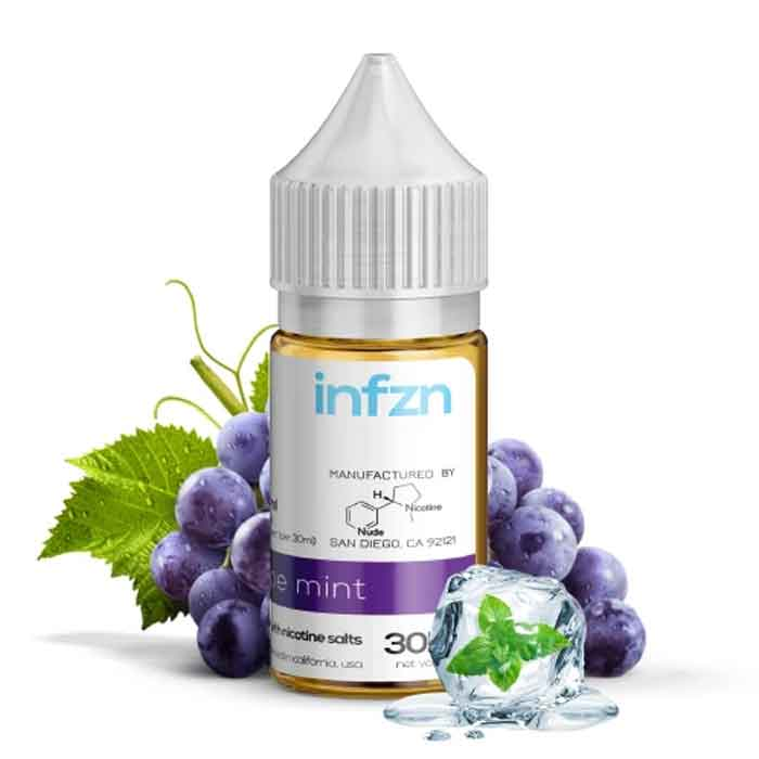 Infzn Grape Mint Salt - Vaping UAE