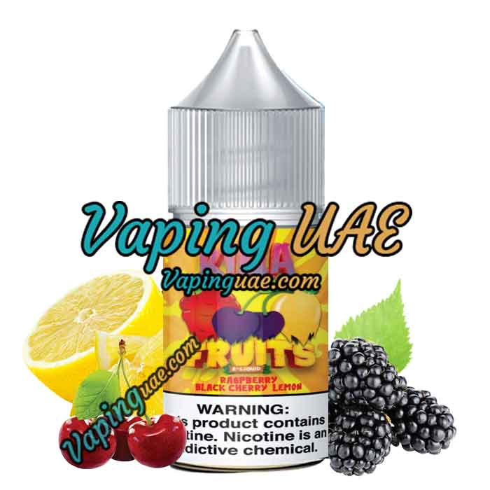 Killa Fruits Salts - Raspberry Black Cherry Lemon - 30ml Nic Salts vape juice - Abu Dhabi & DUbai