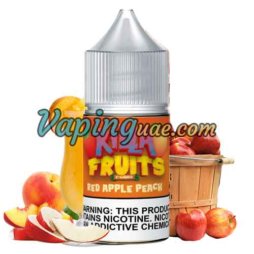 Killa Fruits Salts - Red Apple Peach - Vaping UAE